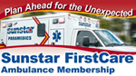 Plan ahead for the unexpected - Sunstar FirstCare Ambulance Membership